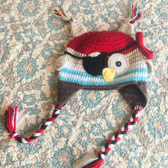 Accessories Toddler Crochet Pirate Owl Hat Poshmark